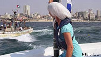 Edith Lutz' Abreise aus Gaza, Foto: Edith Lutz