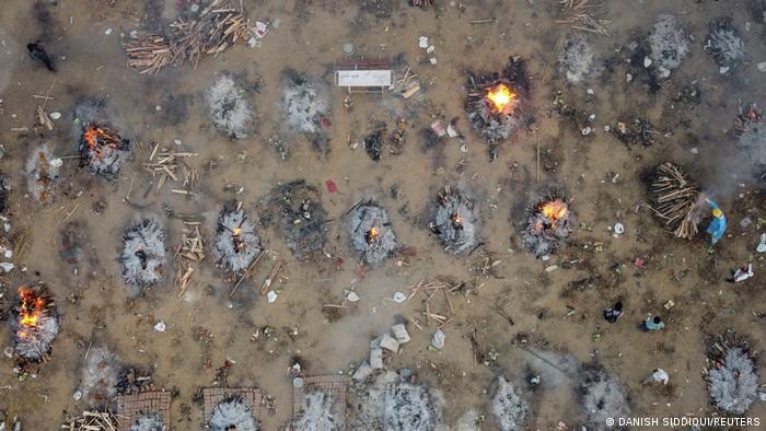 Weltspiegel 23.04.2021 | Indien Coronakrise Krematorien