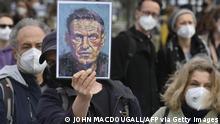 Weltspiegel 23.04.2021 | Deutschland Berlin Demonstration Alexej Navalny