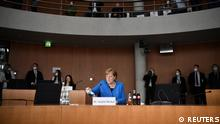Angela Merkel appears before the Wirecard hearing