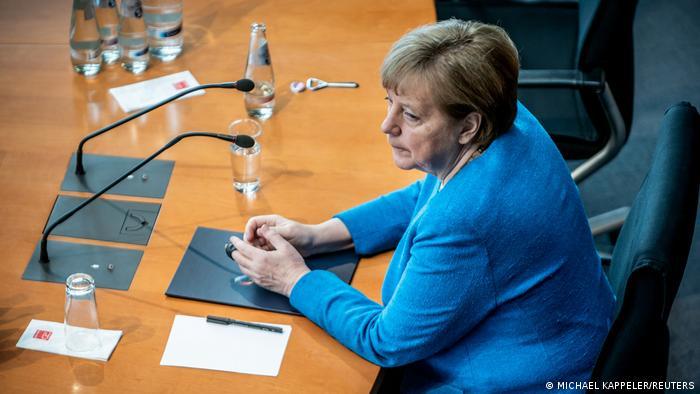Angela Merkel appears before the Wirecard hearing