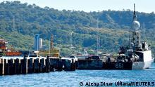 Indonesien l Suche nach dem vermissten U-Boot KRI Nanggala-402 in Banyuwangi
