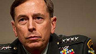 USA Afghanistan General David Petraeus Porträt
