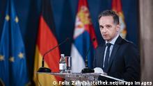 Bundesaußenminister Heiko Maas in Serbien