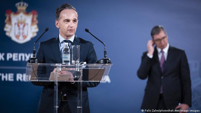 Njemački ministar vanjskih poslova Heiko Maas u Srbiji