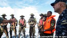 Mosambik Militär Training US Navy