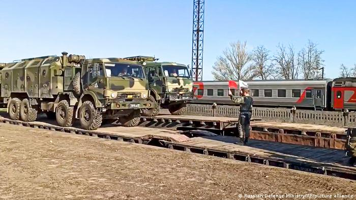 Abzug russischer Truppen aus dem annektierten Halbinsel Krim, 23. April