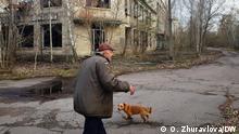 Reportage Tschernobyl Ruinen eines ehemaligen Kinderwarengeschäfts