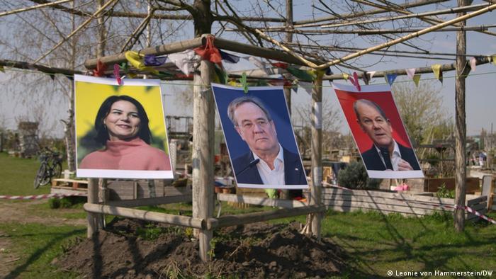 Annalena Baerbock, Armin Laschet ou Olaf Scholz: candidatos a suceder Merkel