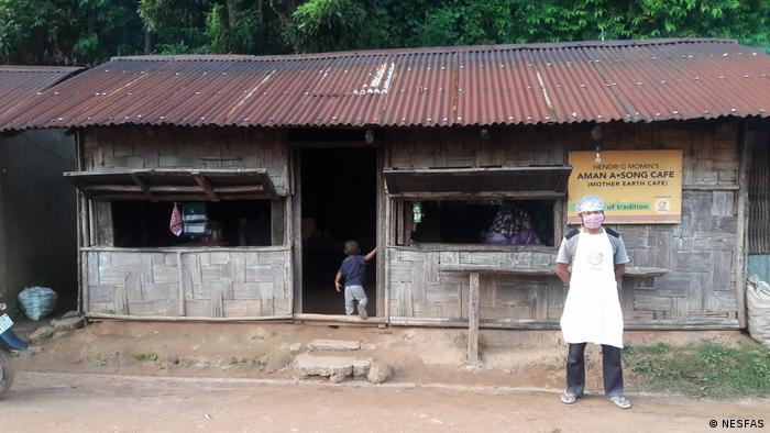 Momin uses wild and organic ingredients at his cafe in Meghalaya.