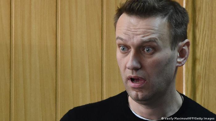 Russland Oppositionsführer Alexej Nawalny