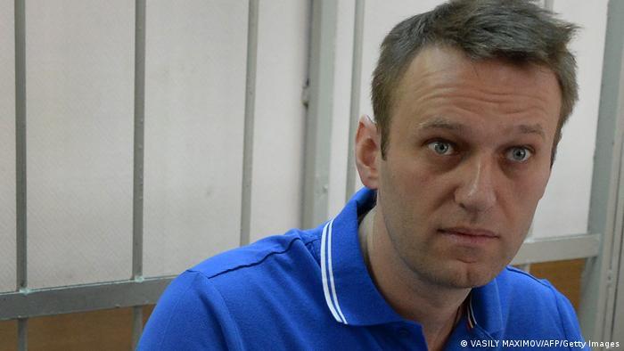 Lider opozycji Aleksiej Nawalny