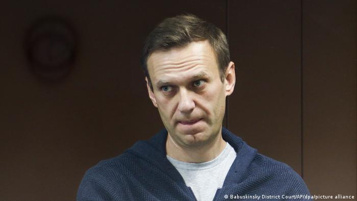 Russia opposition politician Alexei Navalny