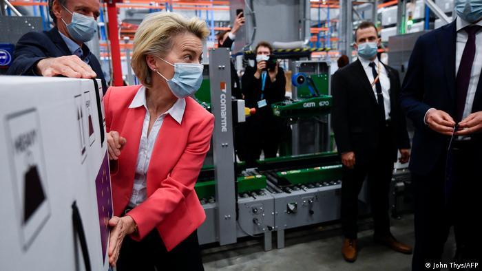 بازدید از کارخانه تولید واکسن فایزر - بیونتک - پورس بلژیک