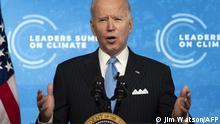 USA Joe Biden virtueller Klimagipfel