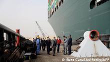 Ägypten | Suezkanal Containerschiff Ever Given
