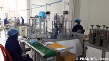 Bangladesch | Coronavirus | Maskenproduktion der PRAN-RFL Group