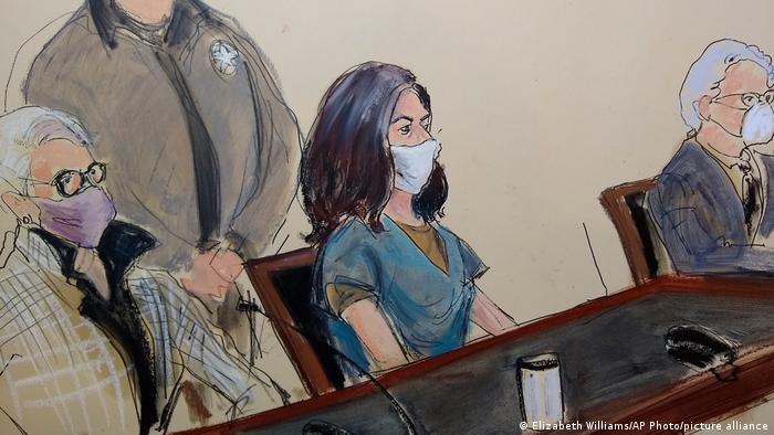 Ghislaine Maxwell in court