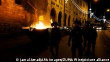 Palästina Proteste in Jerusalem
