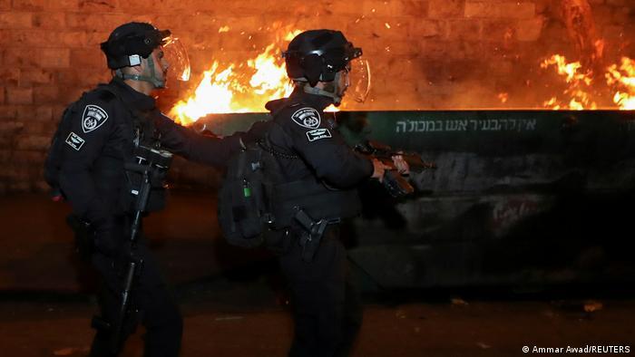 Polizisten in Jerusalem