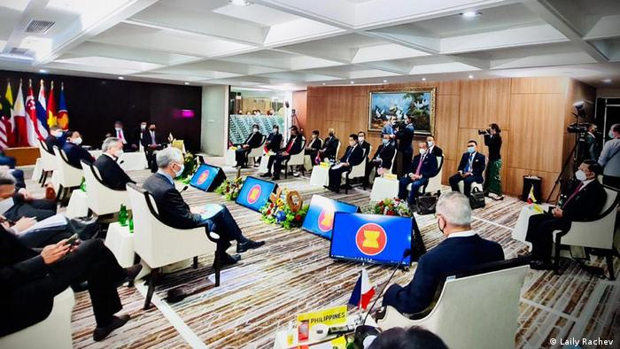 Jakarta ASEAN Gipfel zu Situation in Myanmar