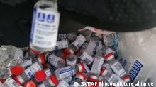 Mexiko Corona-Pandemie | Gefälschter Impfstoff Sputnik V