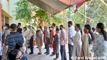 Indien Kolkata Wahlen Coronapandemie