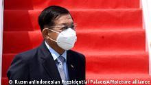 Indonesien Tangerang ASEAN-Gipfel | General Min Aung Hlaing Myanmar