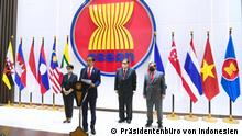 Indonesien Präsident Jokowi ermutigt zur Beendigung der Gewalt in Myanmar