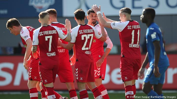 Fußball Bundesliga | SC Freiburg vs TSG Hoffenheim | Tor (1:1)