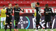 Deutschland Bundesliga - Bayer Leverkusen v Eintracht Frankfurt | Tor (1:0)