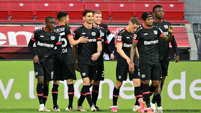 Deutschland Bundesliga - Bayer Leverkusen v Eintracht Frankfurt | Tor (2:0)