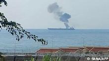 Iranischer Öltanker vor syrischer Küste angegriffen