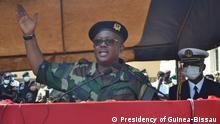 President of Guinea-Bissau, Umaro Sissoco Embaló Place: Bissau Date: 25.04.2021 Author: Presidency of Guinea-Bissau Key-word: President of Guinea-Bissau, Umaro Sissoco Embaló, Nuno Gomes Nabiam