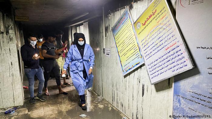 Al menos 82 personas mueren en incendio en hospital de Irak | El Mundo | DW  | 25.04.2021
