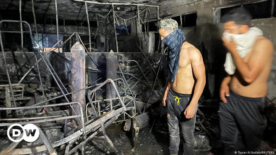 Irak'taki Covid-19 hastanesinde yangın: En az 82 ölü, 110 yaralı