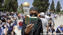 Jerusalem Ramadan Palästinenser Koran