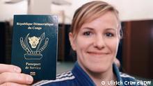 Marie Branser, Leichthletin | mit Pass der Demokratischen Republik Kongo