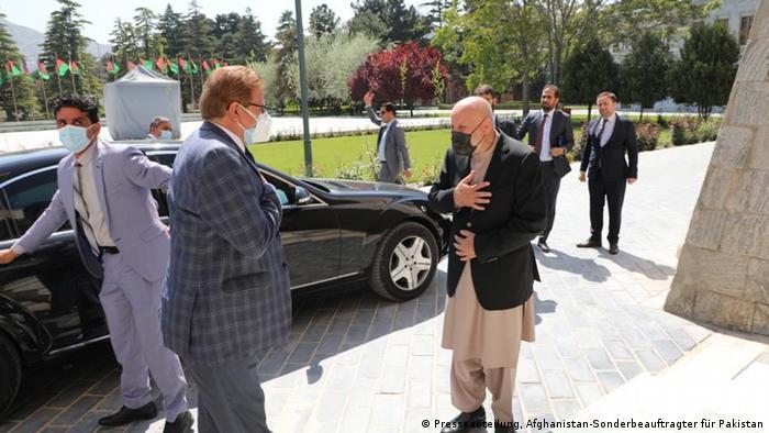 Afghanistan Besuch Mohammad Sadiq, Pakistans Sonderbeauftragter