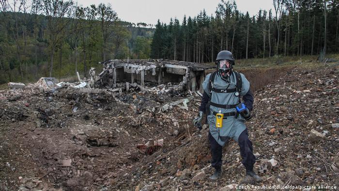 Tschechien 2014,bei Vrbetice | Explosion Munitionslager