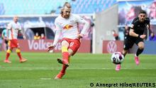 Deutschland Bundesliga - RB Leipzig v VfB Stuttgart | Tor Forsberg