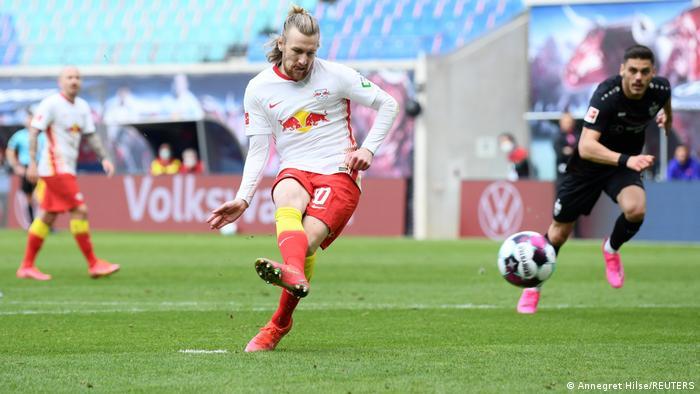 Deutschland Bundesliga - RB Leipzig v VfB Stuttgart   Tor Forsberg