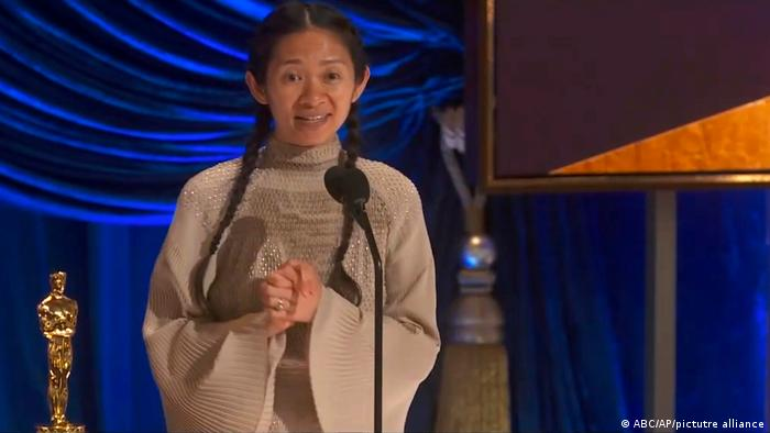 Chloé Zhao no Oscar 2021