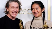 USA Los Angeles: 93. Oscarverleihung - Frances McDormand und Chloe Zhao
