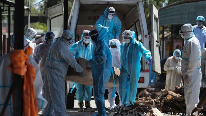 Weltspiegel 26.04.21   Indien Coronavirus