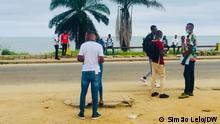 Afrika Angola junge Menschen Jobsuche