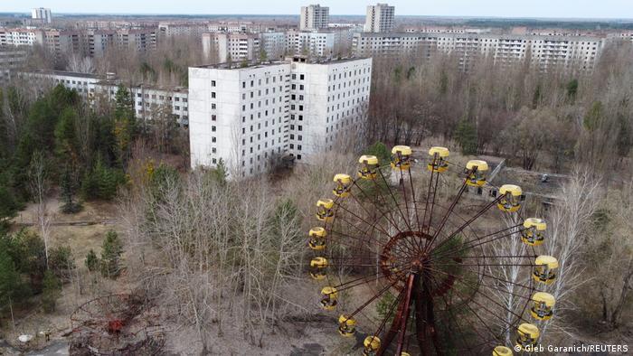 Cernobîl, oraş (în mare parte) pustiu