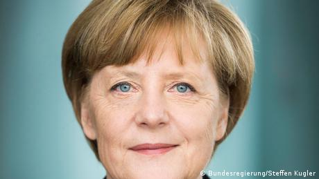 Portrait of Angela Merkel. The Federal Chancellor of Germany opened the 2021 conference with an important message on our responsibility for and the limitations of freedom.