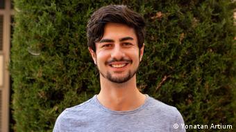 David Harruch, estudiante colombiano residente en Israel.