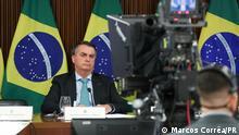 Brasilien Jair Bolsonaro. via Jean Albert Struck Quelle: https://www.flickr.com/photos/palaciodoplanalto/51135605690/ Rechte: Marcos Corrêa/PR (Presidência da República 22.4.2021 Brasilia, Brasilien.